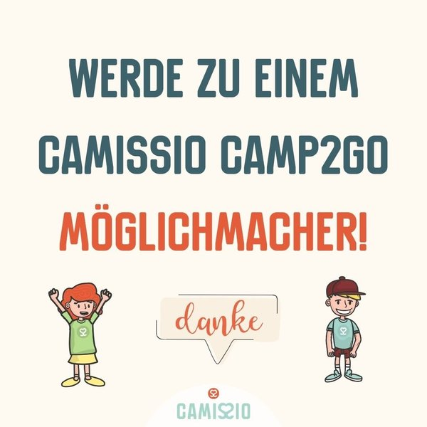 CAMP2GO-Projektspende